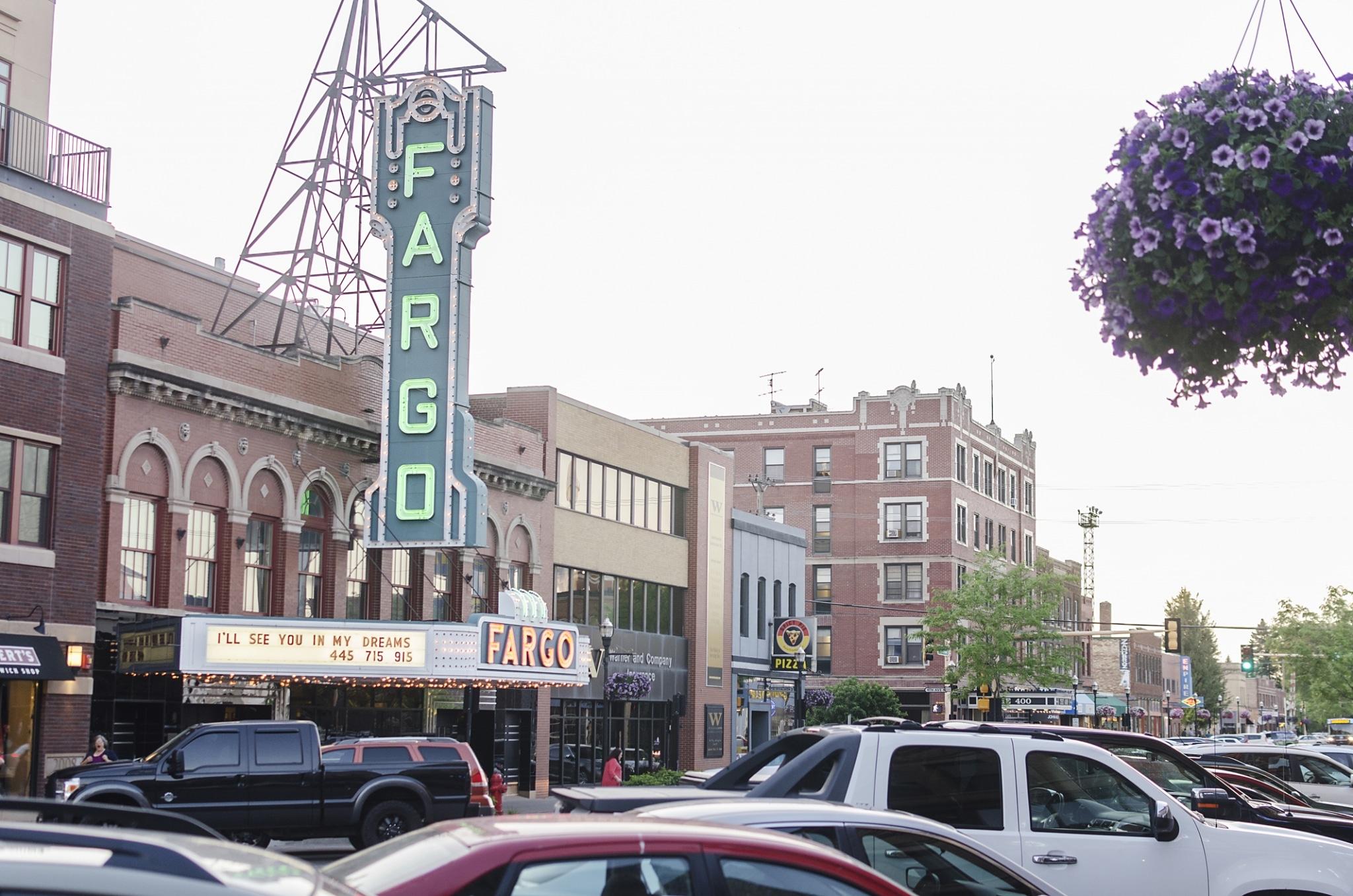 The Fargo Theatre In Downtown Fargo, North Dakota