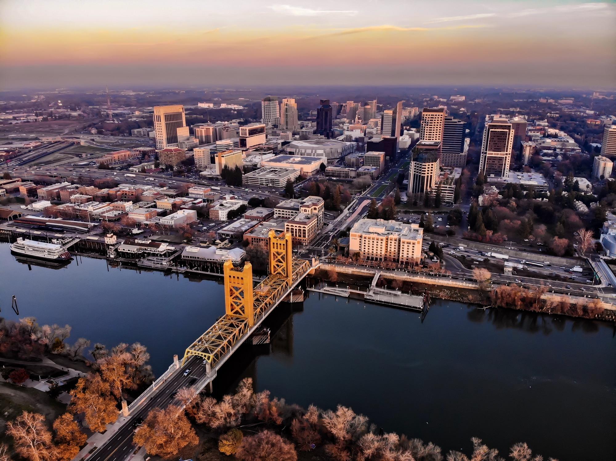 Sacramento from above